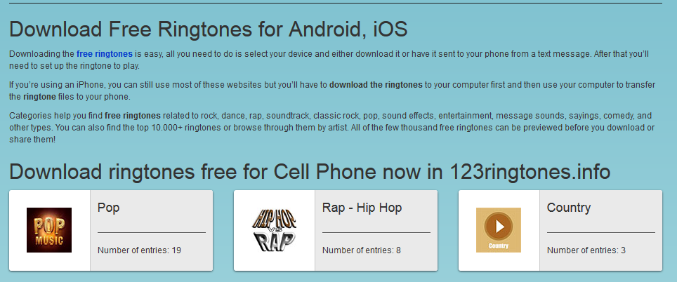 free ringtone download sites
